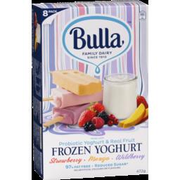 Photo of Bulla Fruit N Yogurt Variety 8pk