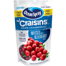 Photo of Ocean Spray Craisins Cranberries Blueberry Juice Infused Dried