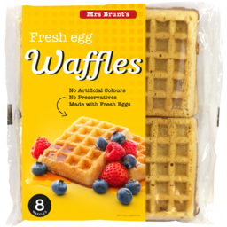 Photo of Mrs Brunts Egg Waffles 8pk