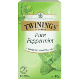 Photo of Twinings Tea Bag Infused Peppermint 40pk