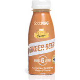 Photo of Soda King Syrup Traditional Ginger Beer 250ml