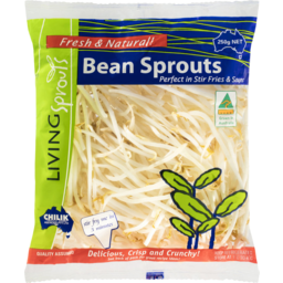 Photo of Living Sprouts Bean Sprouts 250g