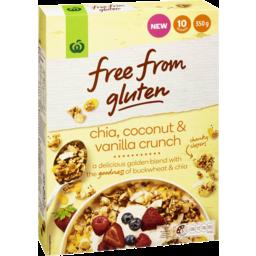 Photo of Free From Gluten Chia Coconut Vanilla Crunch 350g