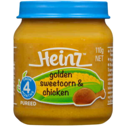 Photo of Heinz Golden Sweetcorn & Chicken 110g