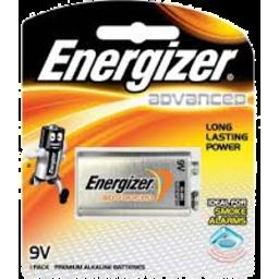 Photo of Energizer Advanced 9v 1pk