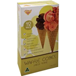 Photo of Altimate Nat Waffle Cone Lg12 Pack