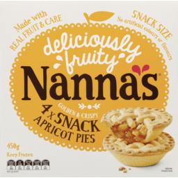 Photo of Nanna's Snack Apricot Pies 4x450g