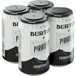 Photo of Pirate Life Burton Frontside Ale Can