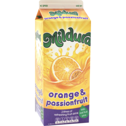 Photo of Mildura Sunrise Orange Passionfruit Fruit Drink 2l