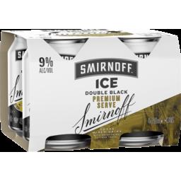 Photo of Smirnoff Ice Double Black Premium 9% Cans