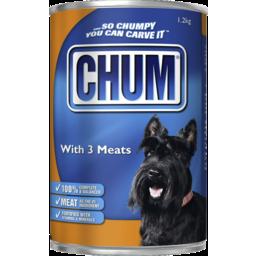 Photo of Chum Dog Food 3 Meats 1.2 Kg