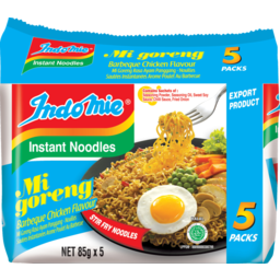 Photo of Indomie Instant Noodle BBQ Chicken 5x85gm