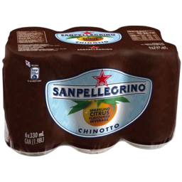 Photo of Sanpel Chinotto Cans 6x330ml
