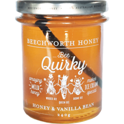 Photo of Beechworth Honey Vanilla Bean 240g