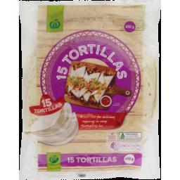Photo of Homebrand Burrito Tortillas 15 Pack