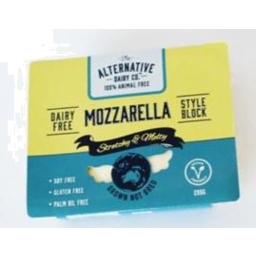 Photo of Alternative Dairy Co. Vegan Cheese Mozzarella 200g