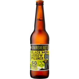 Photo of Townsend Black Arrow Nz Pils 500ml