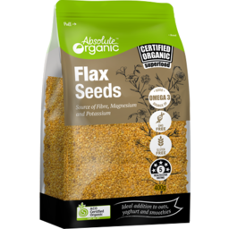 Photo of ABSOLUTE ORGANIC FLAXSEED 400G