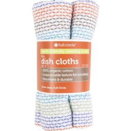 Photo of Fcir Cloth Dishwashing Greyscale 3pk