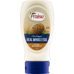 Photo of Praise Real Whole Egg Mayonnaise 335gm
