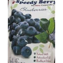 Photo of Speedy Berry Frz Blueberries 1kg