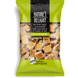 Photo of Natures Delight Apricot Coconut Slice 500g