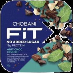 Photo of Chobani Fit X Mint Choc Crunch 140g