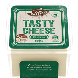 Photo of Community Co. Tasty Cheese Slices 500g