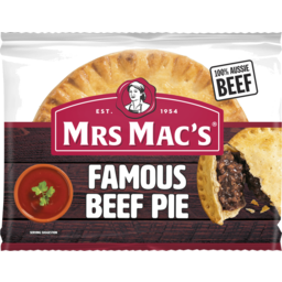 Photo of Mrs Macs Traditional Beef Pie 200gm