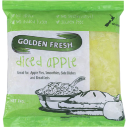 Photo of Golden Fresh Diced Apple 1kg