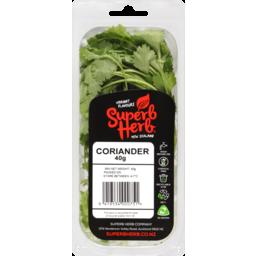 Photo of Superb Herb Fresh Cut Herbs Coriander 40g