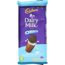 Photo of Cadbury Dairy Milk Oreo Vanill 162gm