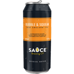 Photo of Sauce Brewing Co Bubble & Squeak Neipa Can