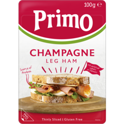 Photo of Primo Thinly Sliced Champagne Leg Ham 100g