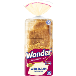 Photo of Wonder White Wonder Smooth Wholegrain Sliced Bread Sandwich 700g