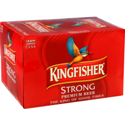 Photo of Kingfisher Beer Strong Can 12x500ml