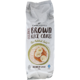 Photo of Ceres Organics Original Brown Rice Cakes 110g
