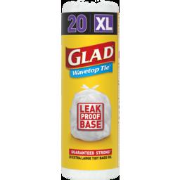 Photo of Glad Wavetop Tie 20 Extra Large 74x66cm