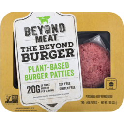 Photo of Beyond Meat Plant-Based Burger Patties - 2 Ct