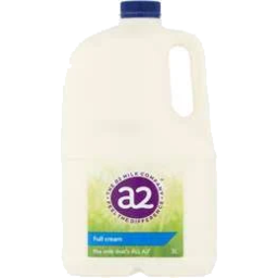 Photo of A2 Full Cream Milk 3l