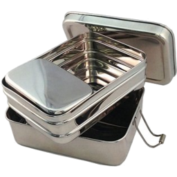 Photo of Naturally Sustainable - Trio Lunchbox Stainless Steel