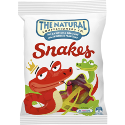 Photo of The Natural Confectionery Co. Snakes 260g