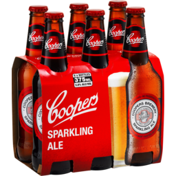 Photo of Coopers Sparkling Ale 6 x 330ml Bottles