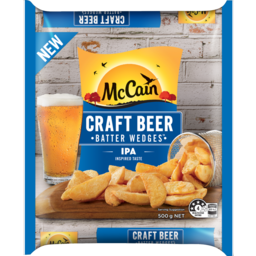 Photo of Mccain Craft Beer Batter Ipa Wedge Cut Chip