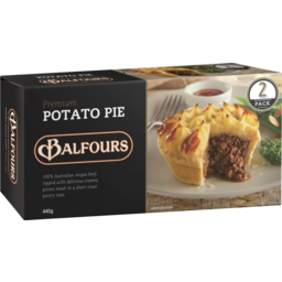 Photo of Balfours Premium Potato Pie 2pk 440g