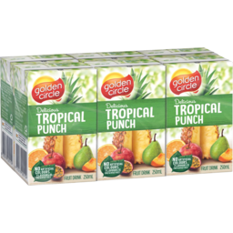 Photo of Golden Circle Tropical Punch Fruit Drink 6x250ml