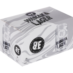 Photo of B.Effect Wanaka Lager 6 Pack Of 330ml Cans