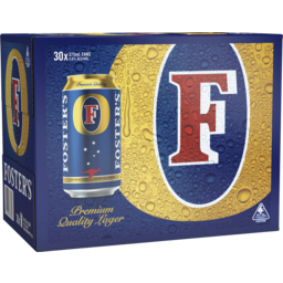 Photo of Fosters Lager Can