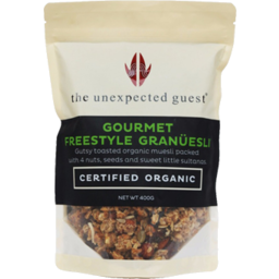 Photo of The Unexpected Guest Cereal - Freestyle Granuesli