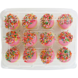 Photo of Iced Mini Cup Cakes 12 Pack